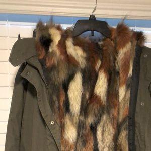 Jacket with vest